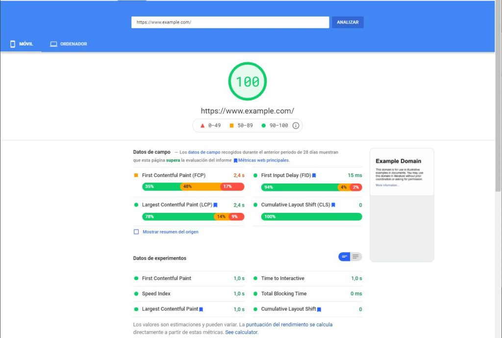 core-web-vitals-pagespeed-insights-report